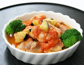 完熟トマトのカチャトゥーラ