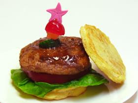 ハンバーガー(パンケーキ)