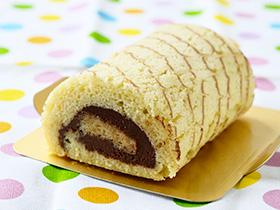 ガナッシュロールケーキ