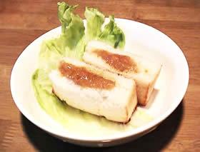 お米パンで作るカレーパン