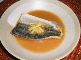 白身魚の味噌煮
